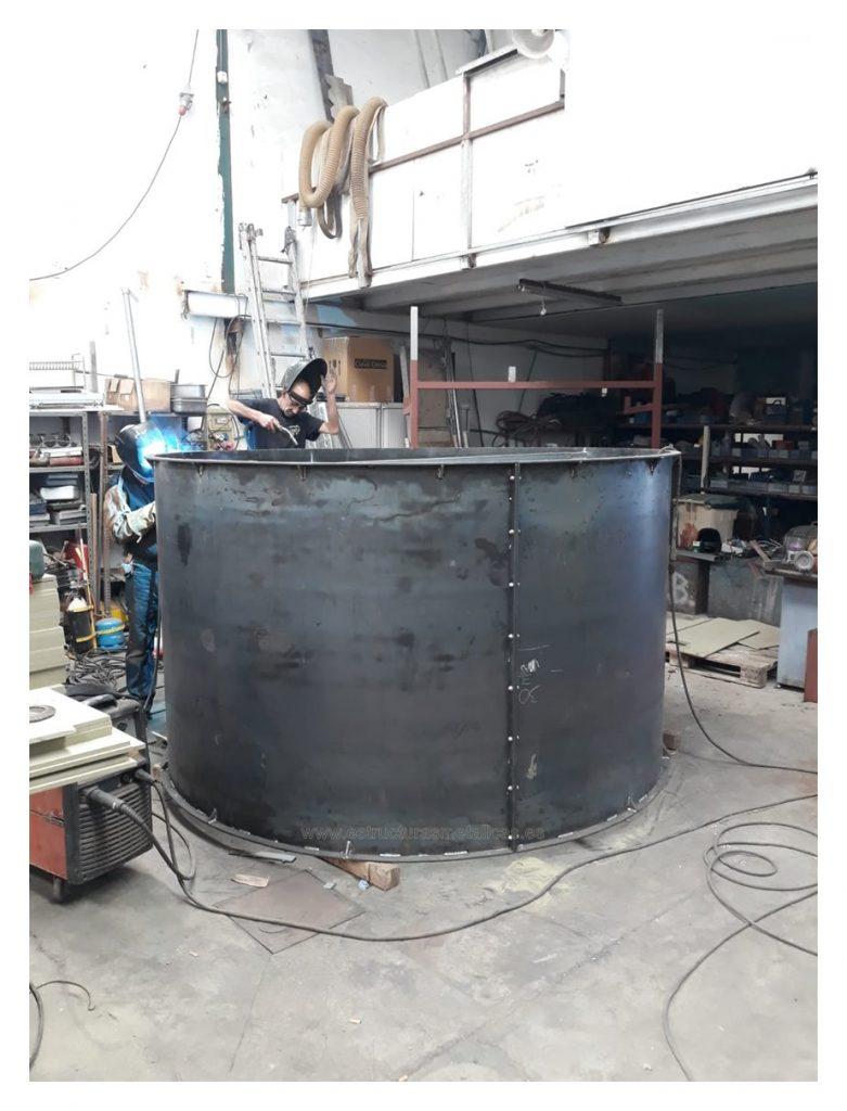 Taller fabricación cilindro en Las Palmas de Gran Canaria